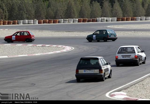 مسابقات اتومبیلرانی سرعت - ورزشگاه آزادی (عکس)