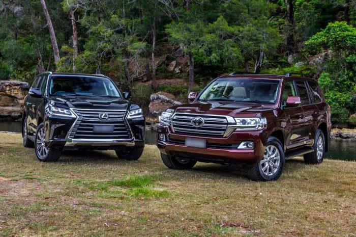 خودروهای «تویوتا» و «لکسوس»