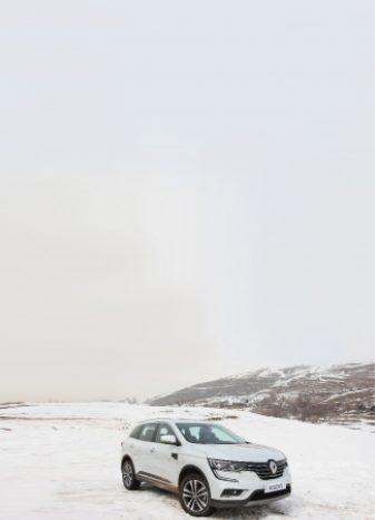 تست آفرود رنو کولئوس جدید در شرایط برفی