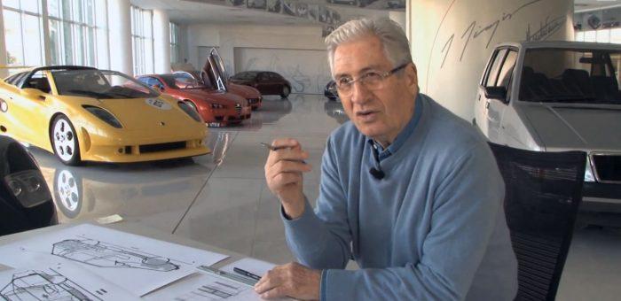 جورجیو جیوجیارو ( طراح مازراتی گیبلی و بوگاتی )