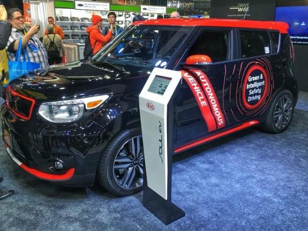 ماشین های خودران ، ستاره نمایشگاه CES 2016