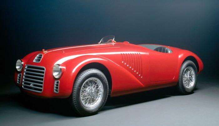 The first Ferrari