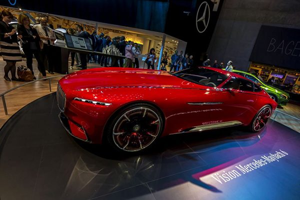 مرسدس بنز در نمایشگاه پاریس خودرو کانسپت جدیدی با نام مرسدس میباخ ۶ را معرفی کرد