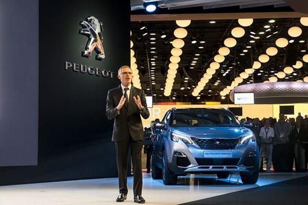 شرکت پژو در نمایشگاه پاریس، خودرو شاسی بلند ۵۰۰۸ را که بر پایه پلت فرم پژو ۵۰۸ توسعه یافته است معرفی کرد