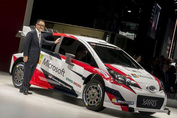مدیرعامل تویوتا از همکاری جدید با مایکروسافت برای طراحی خودروهای هوشمند خبر میدهد