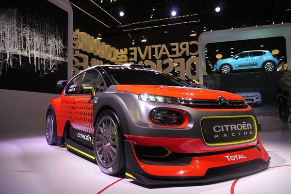 شرکت سیتروئن مانور زیادی بر خودروهای رالی و اسپرت خود در نمایشگاه خودروی پاریس میدهد.