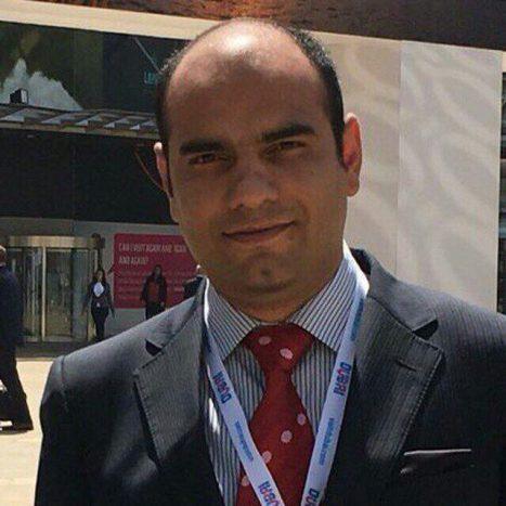 مصطفی حمیدیان مدیرعامل شرکت پارس اکسون شایان